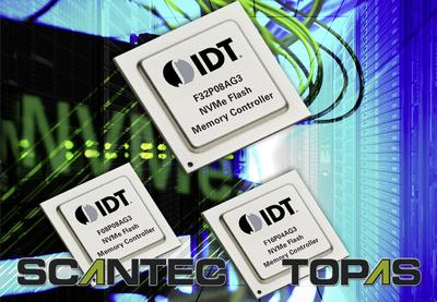 IDT Introduces Industry's First NVM Express Enterprise Flash Controller