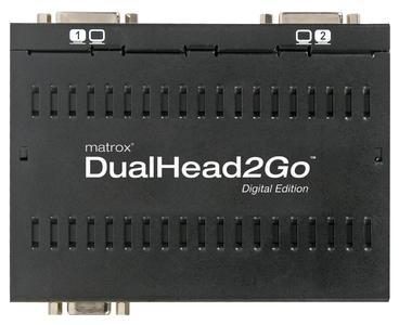 Matrox DualHead2Go Digital Edition - top