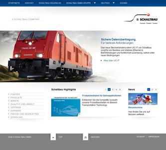 Relaunch of the Schaltbau website