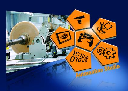 Caption: Users profit from high-precision, robust control of winding processes with this new software library from B&R