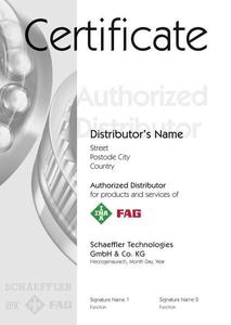 The certificates bear a clear number in order to prevent them from being counterfeited.