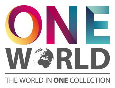 The logo of the ONE WORLD COLLECTION (photograph: SWISS KRONO)