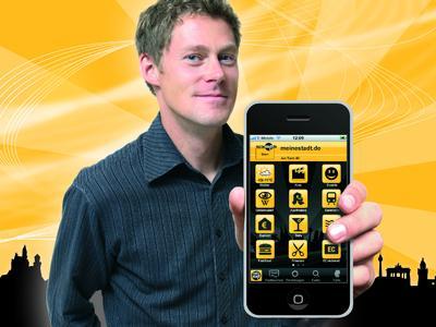 Relaunch der iPhone-Applikation von meinestadt.de: Version 3.0 mit neuer Navigation und Landscape-Modus