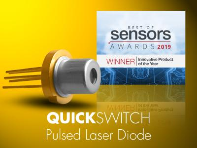 "Sensors Expo: LASER COMPONENTS Wins ""Best of Sensors"" 2019 Award"