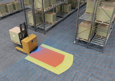 Leuze electronic demonstrated its safety expertise at the LogiMAT 2019