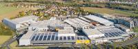 Das Haupt- und Stammwerk der Kaeser Kompressoren in Coburg-Bertelsdorf