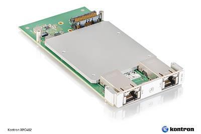 New dual port 10 Gigabit XMC402 mezzanine card