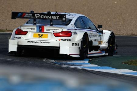 Alexander Sims, BMW M Performance Parts M4 DTM, DTM Young Driver Test, BMW Motorsport, Jerez de la Frontera