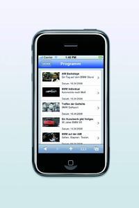 Mit nur einem Touch: BMW TV jetzt auf dem iPhone