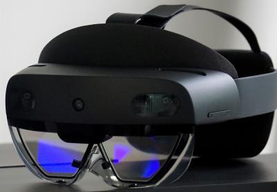 Augmented-Reality-Brille HoloLens. Bildquelle: Hufschmied Zerspanungssysteme