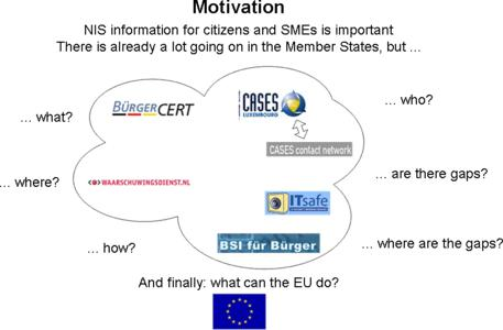 NIS information for citizens and SMEs is important. There is already a lot going on in the Member States, but...