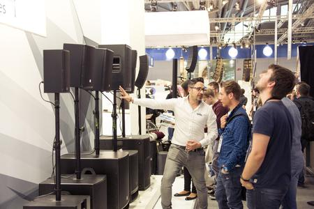 Adam Hall Group with visitor record at the Prolight + Sound and Musikmesse trade fair stands