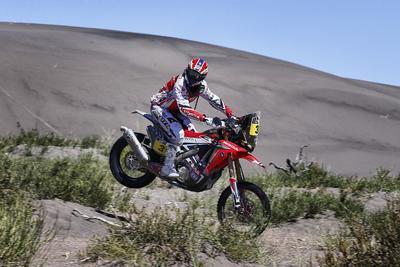 Joan Barreda gewinnt die dritte Dakar Etappe