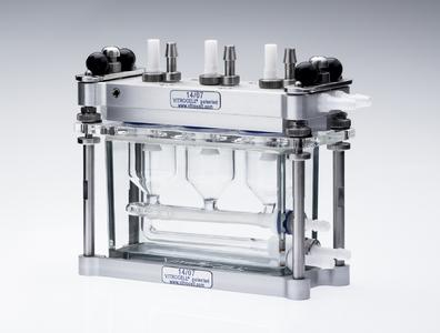 VITROCELL® cell cultivation and exposure module for in vitro testing
