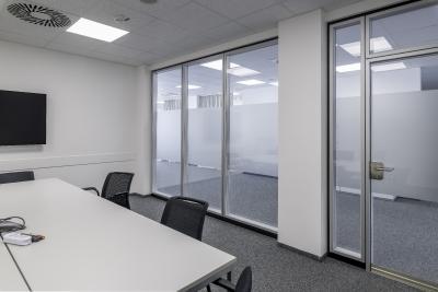 Von Transparenz geprägte Räume