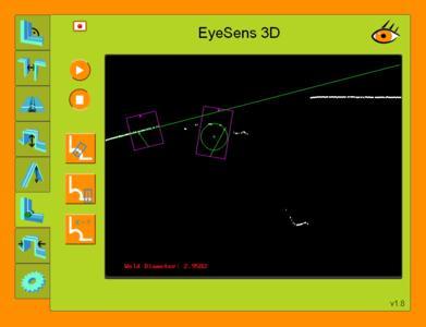 EyeSens Weld Webinterface