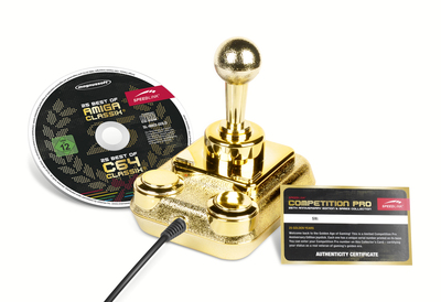 A truly classic joystick - the COMPETITION PRO: limited Anniversary Edition