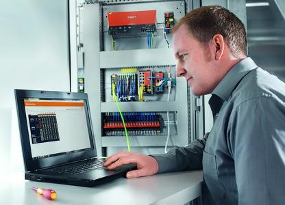 Weidmüller u-remote: Ein im Koppler integrierter Web-Server gestattet mit seiner Oberfläche das Prüfen vor Ort oder aus der Ferne. Der Web-Server ermöglicht eine sektionsweise Inbetriebnahme bereits vor der Maschinenkommissionierung