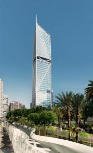 Prämiert mit dem Best Tall Building Award: '181 Fremont'-Wolkenkratzer in San Francisco nutzt die ersten notfalltauglichen thyssenkrupp-Aufzüge der USA (Quelle: thyssenkrupp Elevator)
