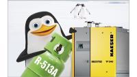 Das Kältemittel R 513A bietet für Kältetrockner die derzeit zukunftssicherste Lösung. Alle Kaeser Kältetrockner arbeiten bis Ende 2019 mit dieser umweltfreundlichen und sicheren Alternative