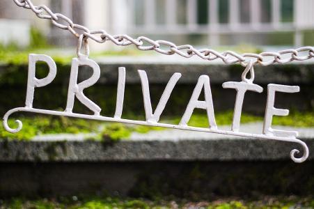 Private Daten sollten privat bleiben...