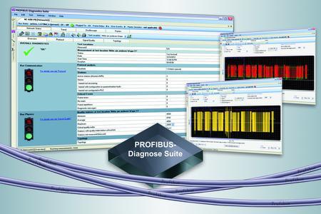 PROFIBUS-Diagnose Suite 2.10 mit erweitertem Funktionsumfang