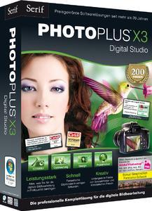 Bildbearbeitung auf Profi-Level: PhotoPlus X3 (Packshot 3D_Front_Links_300dpi_rgb)