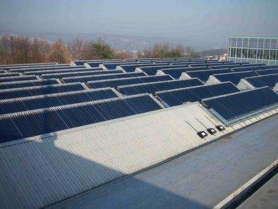 large-scale solar collector system