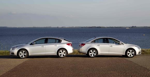 Erfolgsmodell Chevrolet Cruze jetzt auch mit 1,7-Liter-Turbodiesel