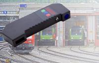 Das handliche IMR-L zur berührungslosen Messung des Innenspurkranzabstandes bei Bahnrädern