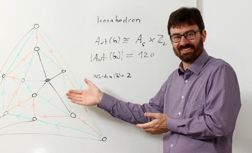 Professor Dr. Pascal Schweitzer / Foto: Koziel/TUK