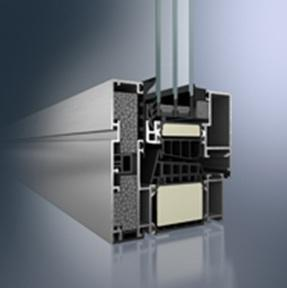 Passivhaus zertifiziertes Aluminium-Fenstersystem Schüco AWS 112.IC.