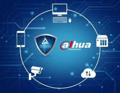 Datenschutz-Zertifizierung von TÜV Rheinland für DSGVO-konforme Dahua Technology Security-Lösungen