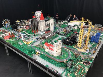 mobile Lego-Stadt / (c)Tibor e.K.