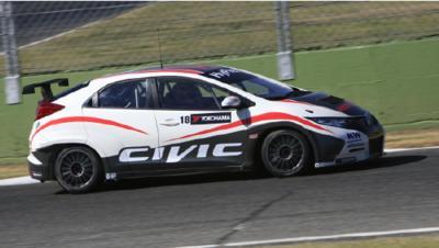 Die Streckentests mit dem neuen Honda Civic WTCC haben begonnen
