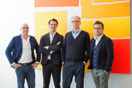 CSMM Geschaeftsleitung v.l.n.r.: Timo Brehme, Malte Tschoertner, Reiner Nowak und  Sven Bietau