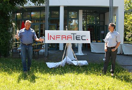Publication of new InfraTec Logo