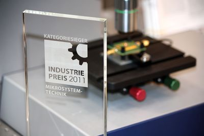 Polytec's UHF-120 Vibrometer Wins the 2011 Industry Prize