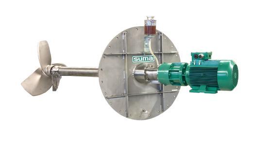 Mit dem Rührgigant FR Light erhalten Anlagenbetreiber ein zuverlässiges Rührwerk zum Homogenisieren und Aufrühren, das flexibel einsetzbar und für viele Anwendungen geeignet  ist