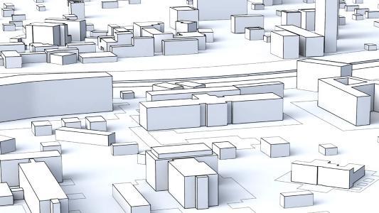 vielfältige Gebäudekubaturen realisierbar