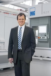 Dr. Guido Hegener, Geschäftsführer der EMAG Salach Maschinenfabrik GmbH
