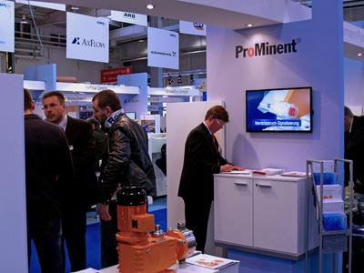 ProMinent at Hannover Messe 2014 - Positive results