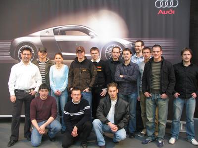 Studenten aus Friedberg zu Besuch in der Region Heilbronn-Franken