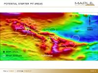 Maple Gold completes 6,050 metre drill campaign at Douay