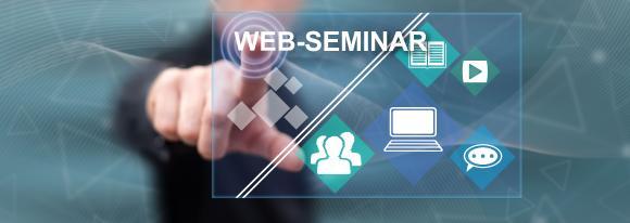 Kostenlose Weiterbildung mit Web-Seminaren