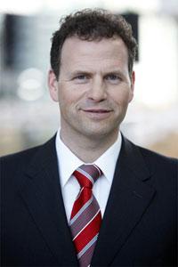 Martin Hofer, Vorstand der Wassermann AG, moderiert den Themenkomplex Cloud Logistics