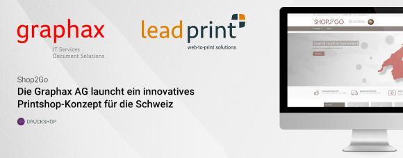 Shop2Go - Die Graphax AG bringt eine innovative Printshop-Resellerlösung auf den schweizer Markt