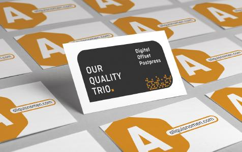 "Onlineprinters is the first online print company to score the ""quality hat-trick"" having successfully certified its digital and offset printing modules as well as post-press operations / Copyright: Onlineprinters GmbH"