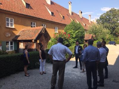Ein gemeinsamer Besuch in Augsburg's Fuggerei rundete das Programm der US-Delegation auch kulturell ab