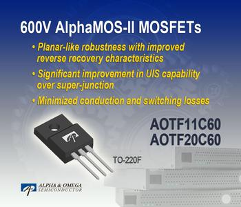Robust 600V AlphaMOS-II MOSFET Family